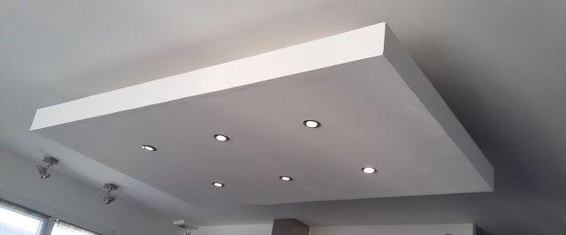 Bricolage De Lidee A La Realisation Plafond Descendu Caisson Suspendu