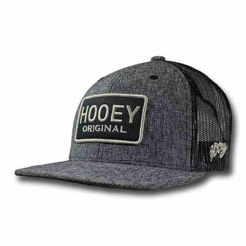 quality design dafce d6471 ... cheapest hooey hat gray black hooey original trucker snapback ball cap  1753t gybk a3161 cf2ea