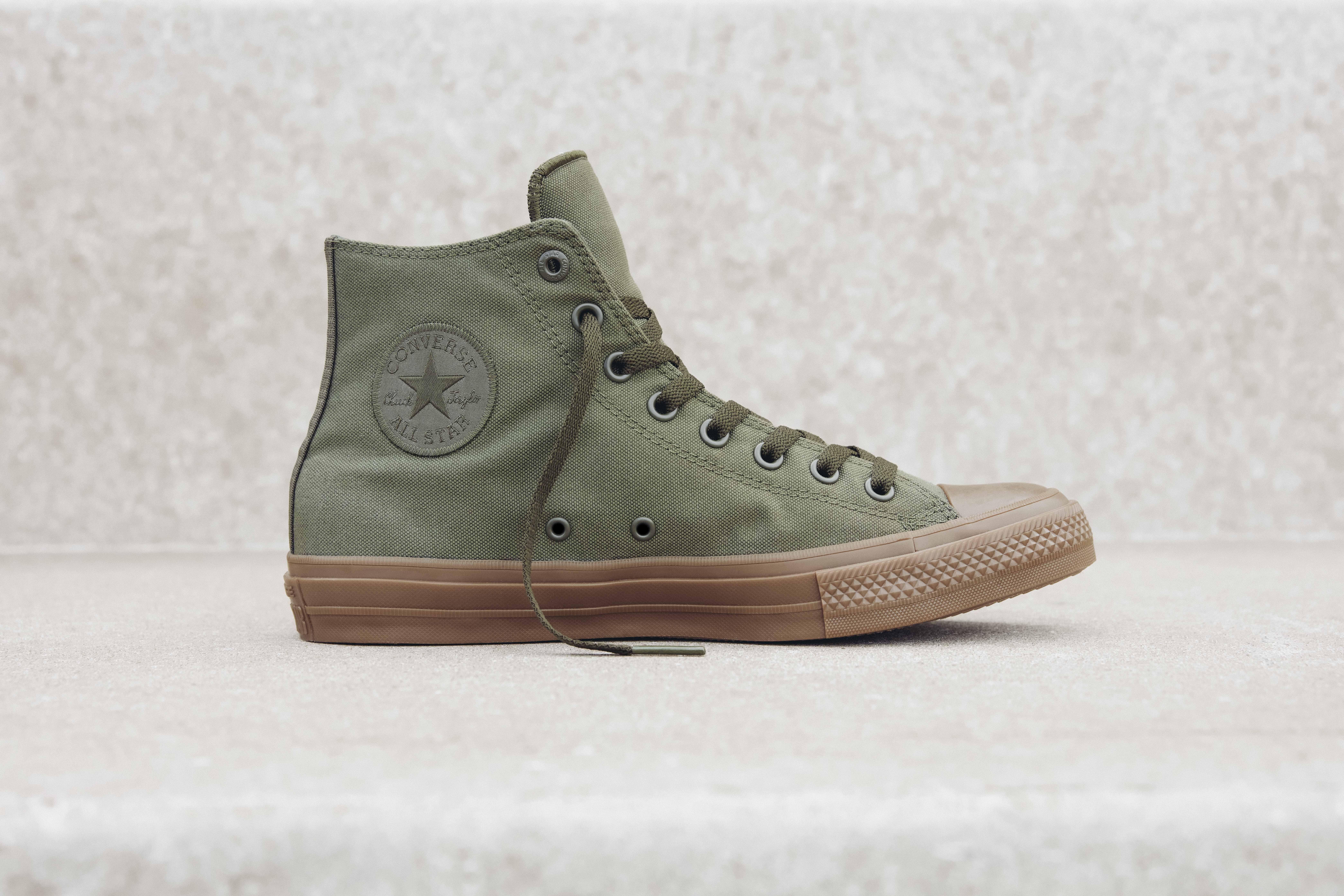 The Converse Chuck II Gum provides a