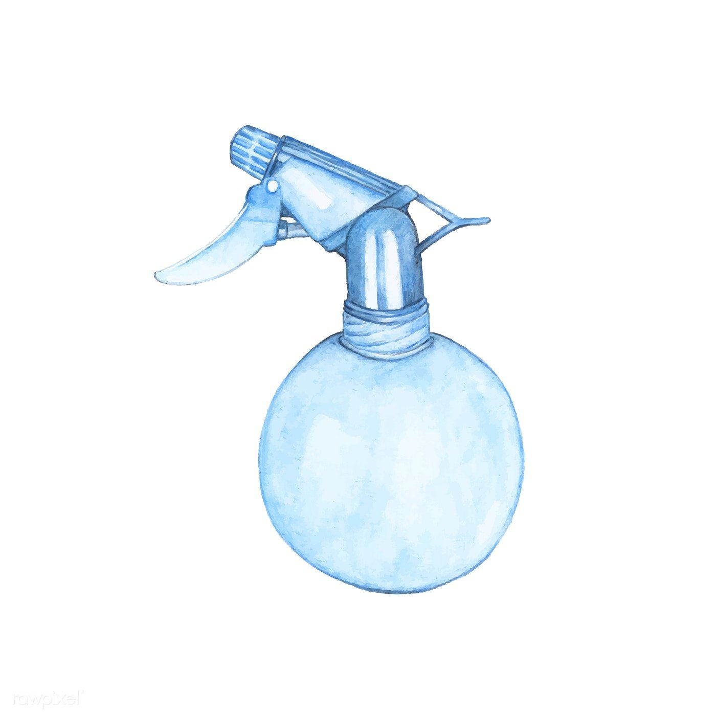 44+ Water spray bottle clipart information