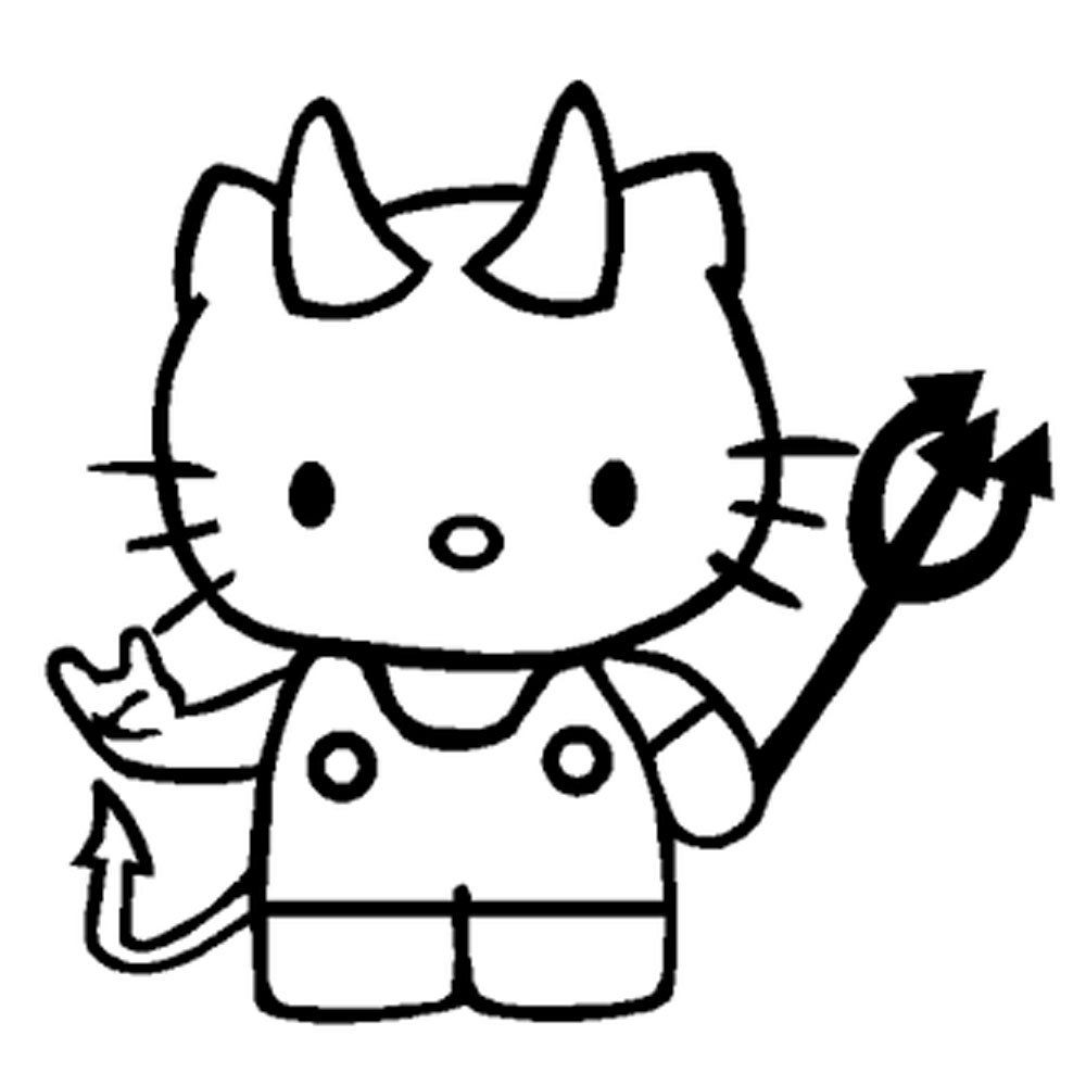 Scary Halloween Hello Kitty Coloring Pages Hello Kitty Colouring Pages Hello Kitty Coloring Halloween Coloring Book