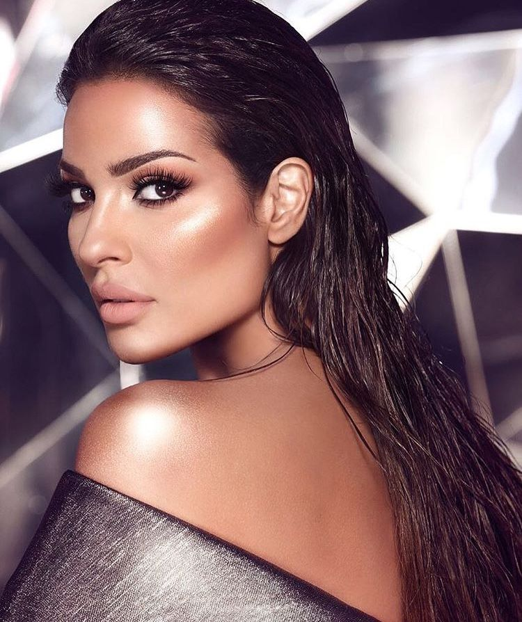 The Beautiful Nadine Nassib Njeim Makeupforever Makeup And Beauty