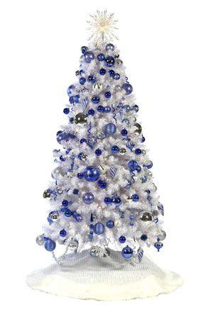 Christmas Decorating Tips Blue Christmas Tree Christmas Tree Colour Scheme Silver Christmas Tree