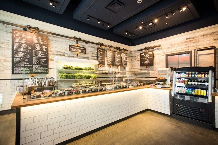Inside FastCasual Salad Spot Garden Bar, Open Now Salad