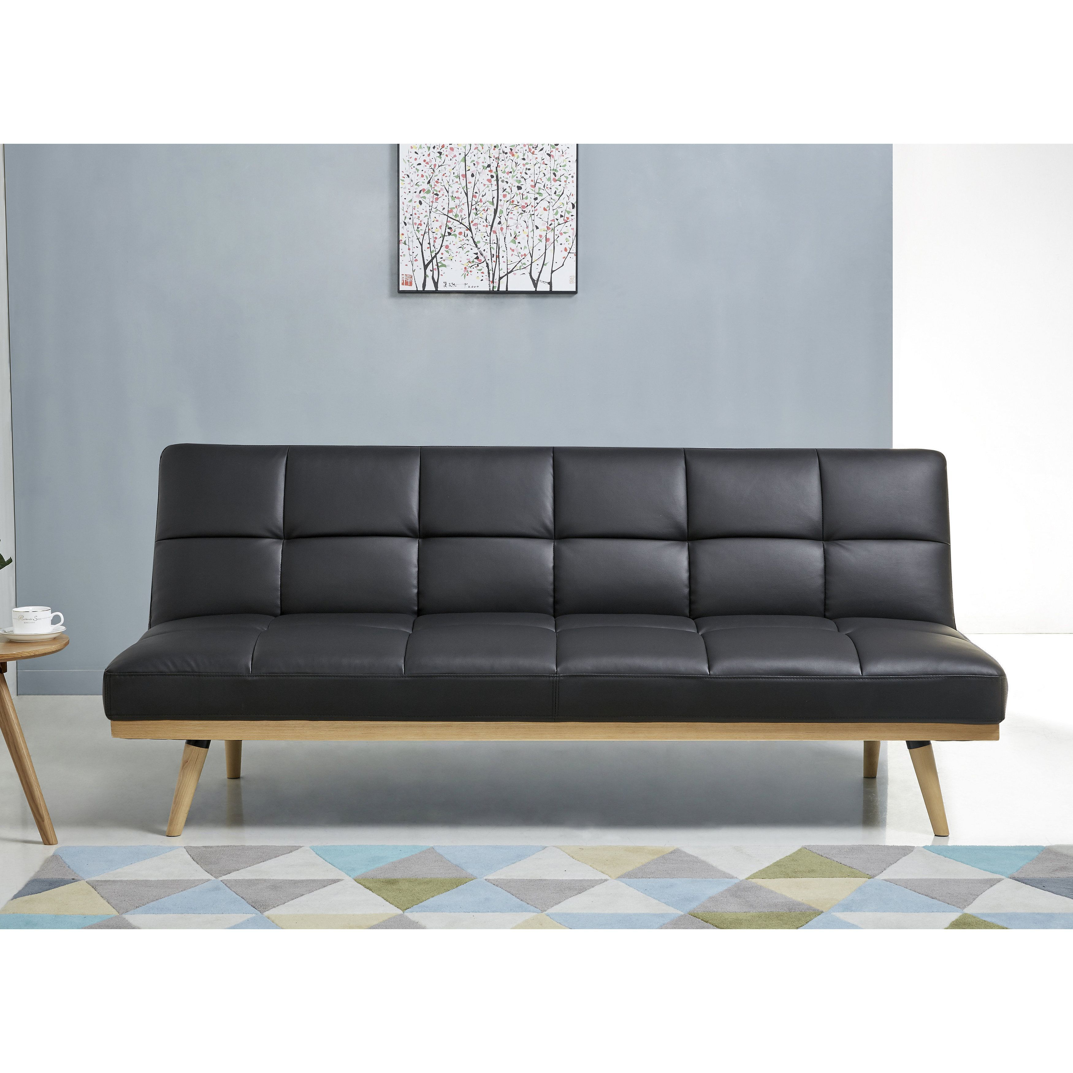 Best 25+ Black leather sofa bed ideas on Pinterest | Black leather sofas,  Living room ideas with black leather sofa and Black living rooms