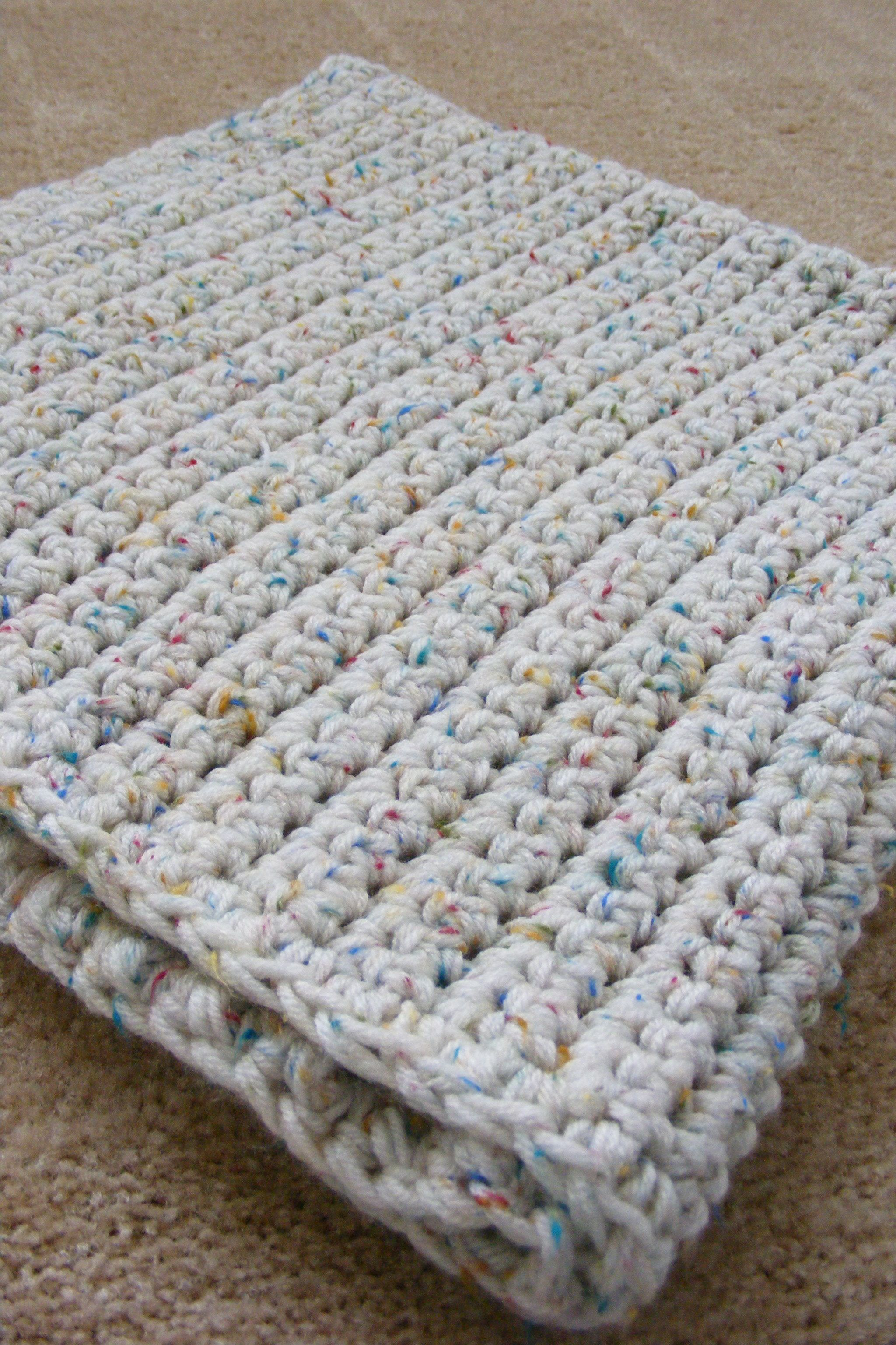 Single Crochet Baby Blanket Pattern | Babydecken, Decken und ...