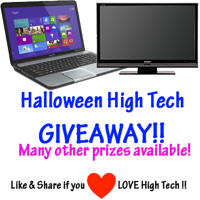 Halloween High Tech Giveaway!!