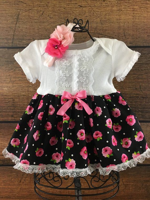16f320133b4d Baby girl tea party dress, CLEARANCE SALE, floral baby dress, vintage baby,  outfit for pictures, bab