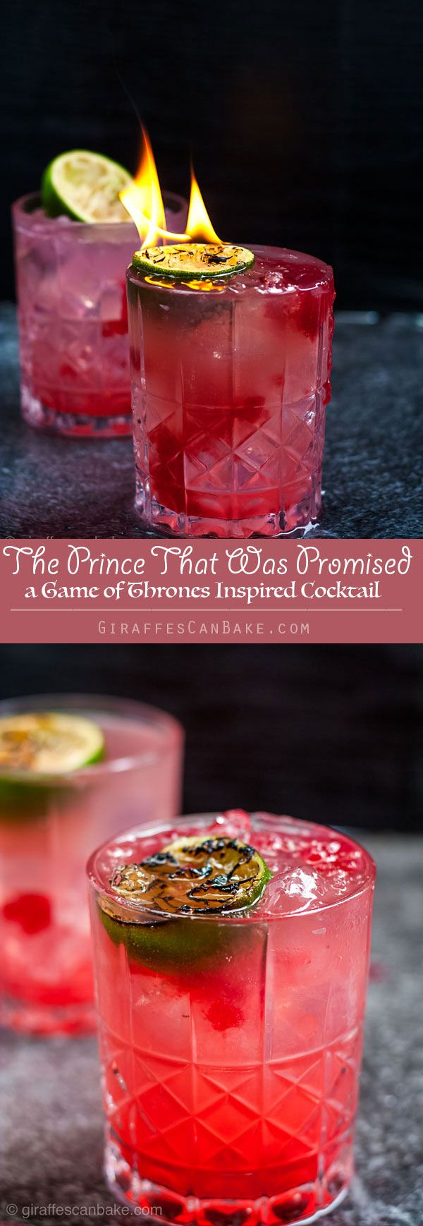 The Prince That Was Promised With Lightbringer Garnish Recipe Game Of Thrones Cocktails Smoked Cocktails Cocktails