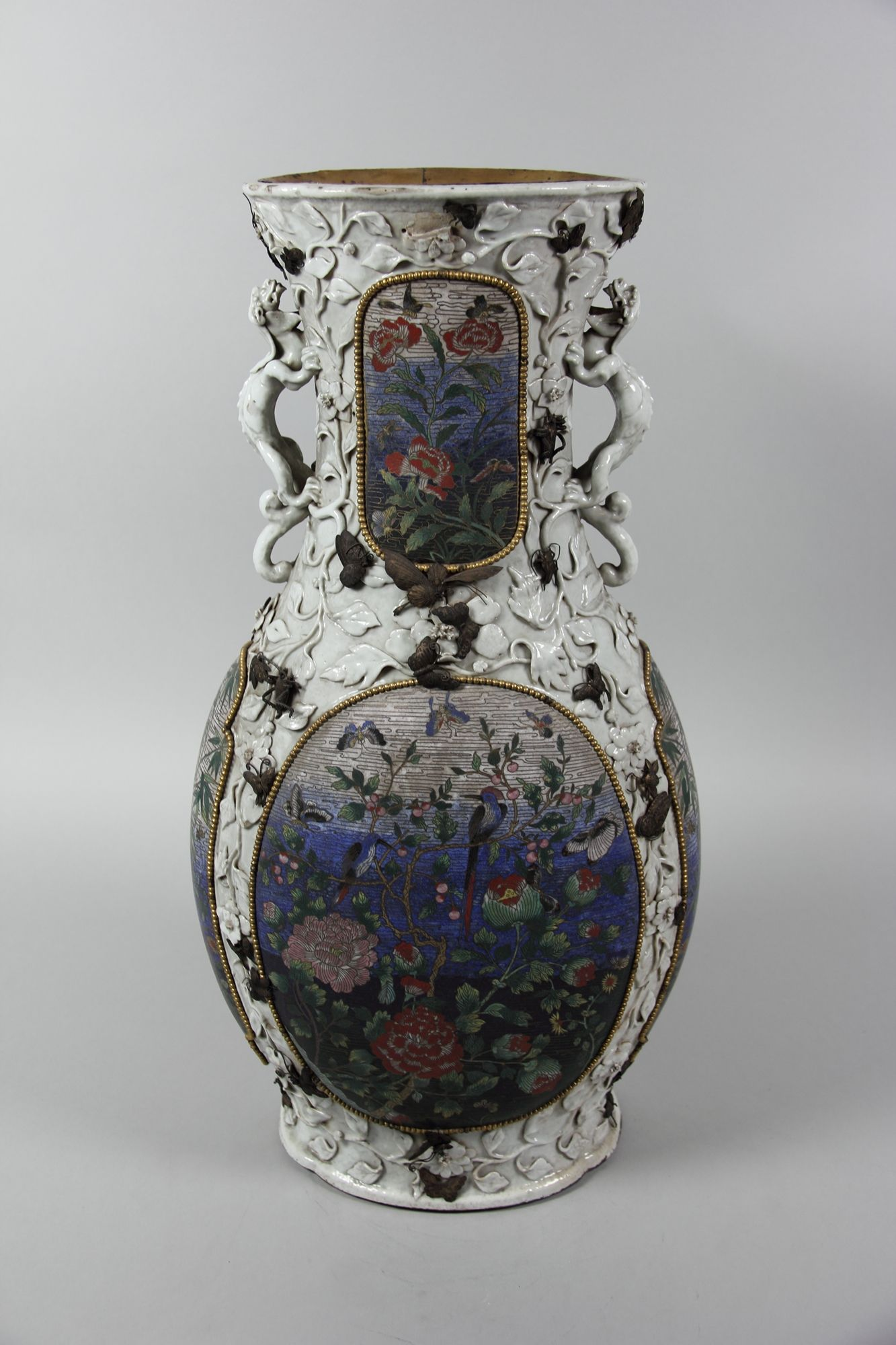 Vase Qing Dynasty First Half Of The 19th