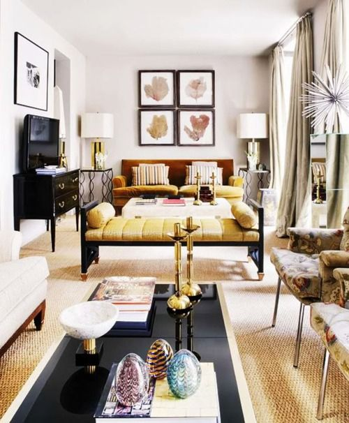 Long Narrow Family Room Layout