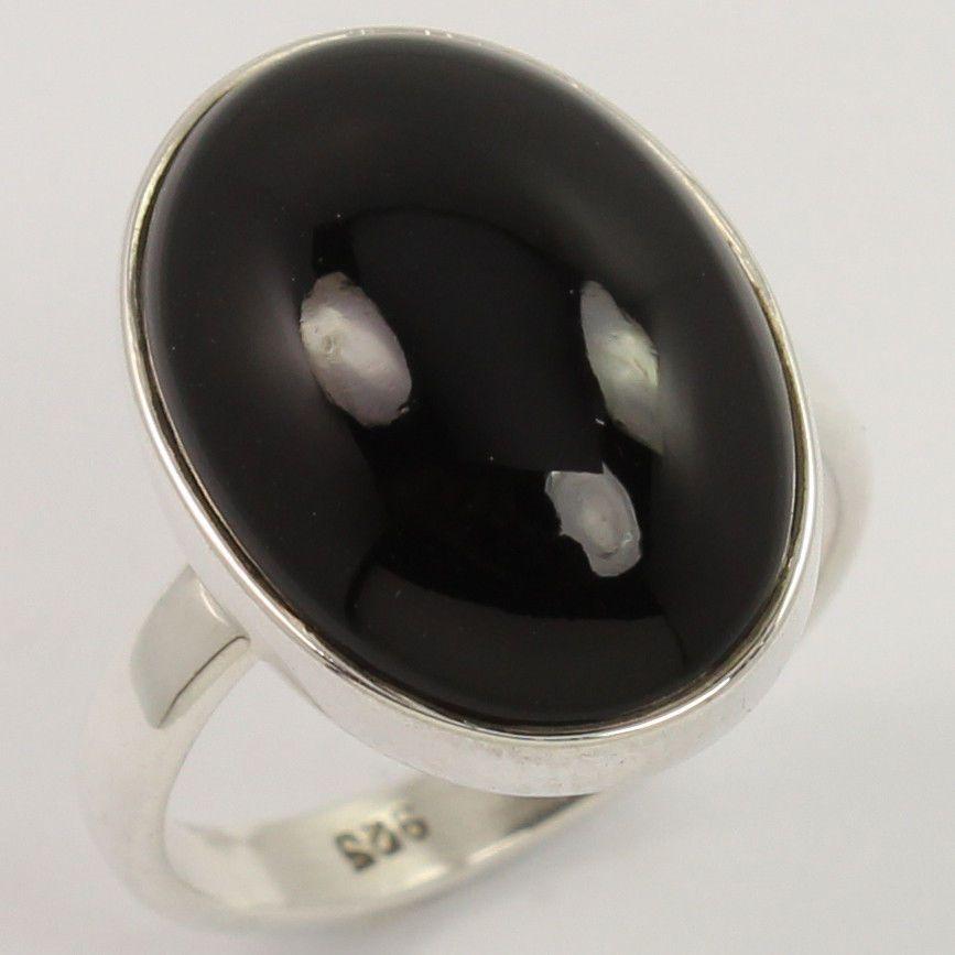 FINE EDH 925 Solid Sterling Silver Genuine PERIDOT Gems Pretty Ring Choose Size