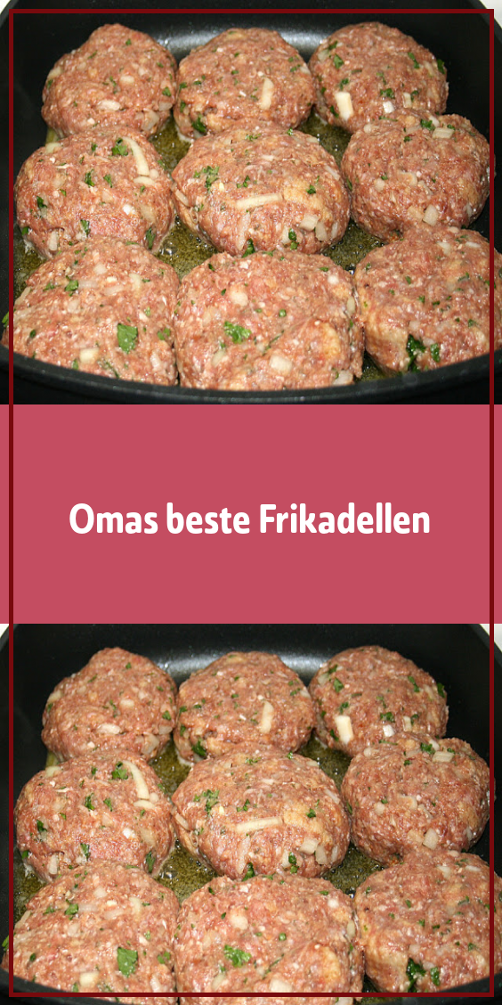 Photo of Grandma's best meatballs-Omas beste Frikadellen  Ingredients…