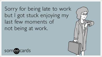 Late For Work Jokes