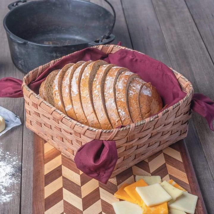 Amish Bread, Napkin or Serving Basket (Uses Cloth Napkin Liner) - Matching #clothnapkins