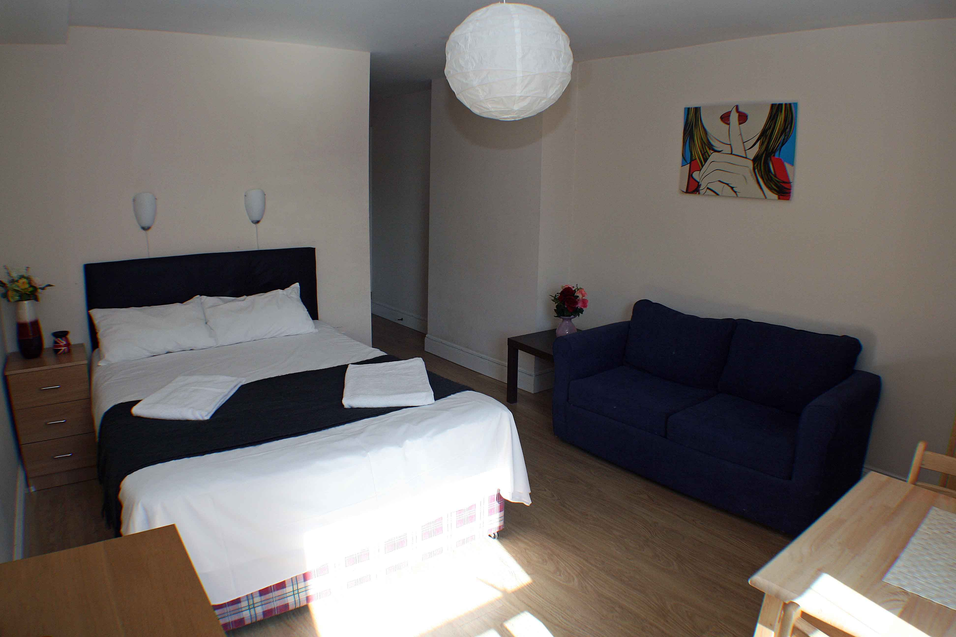 Large studio flat for rent in Central London, affordable ...