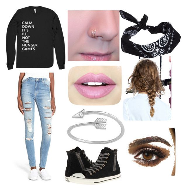 """School outfit"" by maddiecarlson725 on Polyvore featuring RES Denim, Fiebiger, Converse and ASOS"