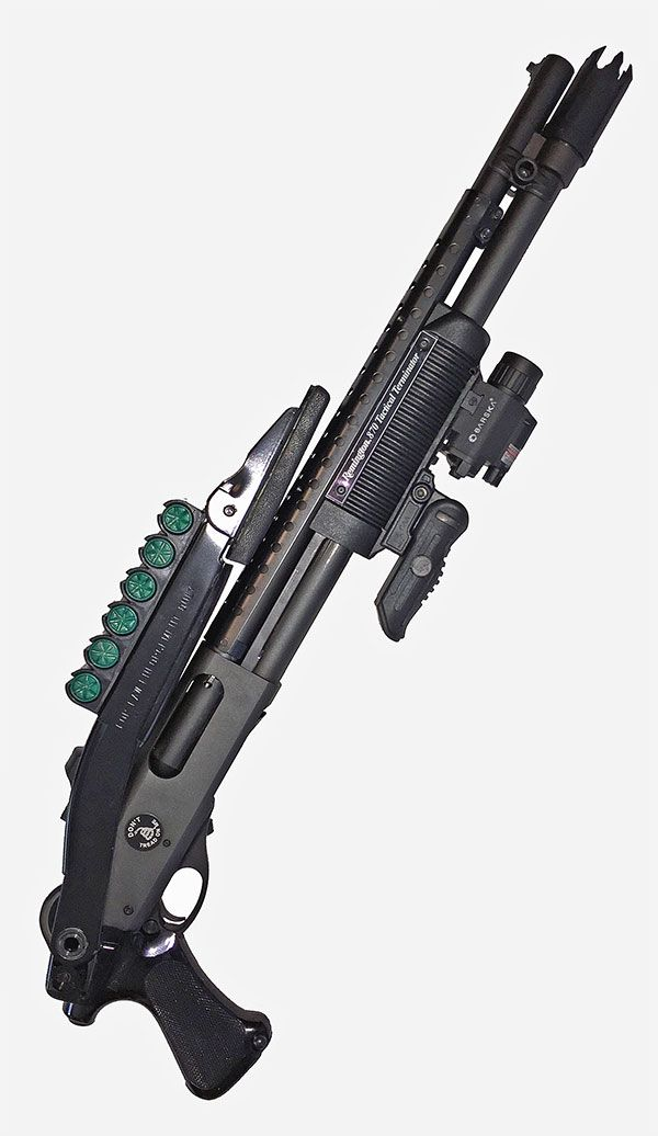 Remington 870 Tactical Terminator with Upgrades and