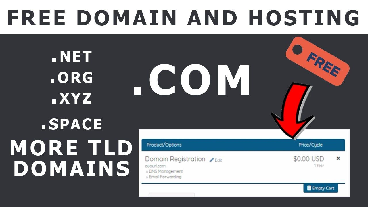 15+ Free domain without hosting information