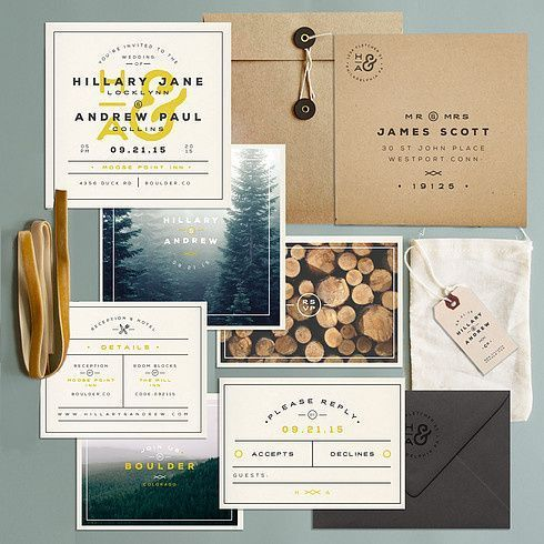 Invites on Designspiration