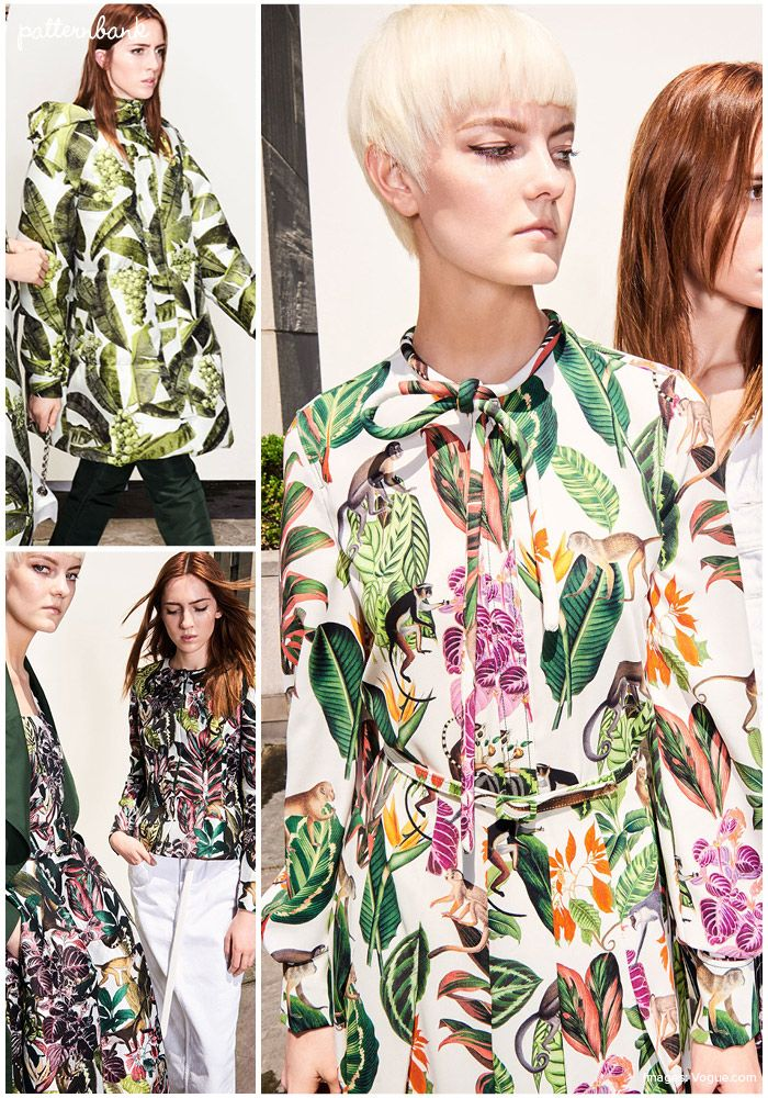The Patternbank team bring you our print and pattern top ten Resort 2018 collections. Look out for our print and pattern trend analysis of all the Resort 1