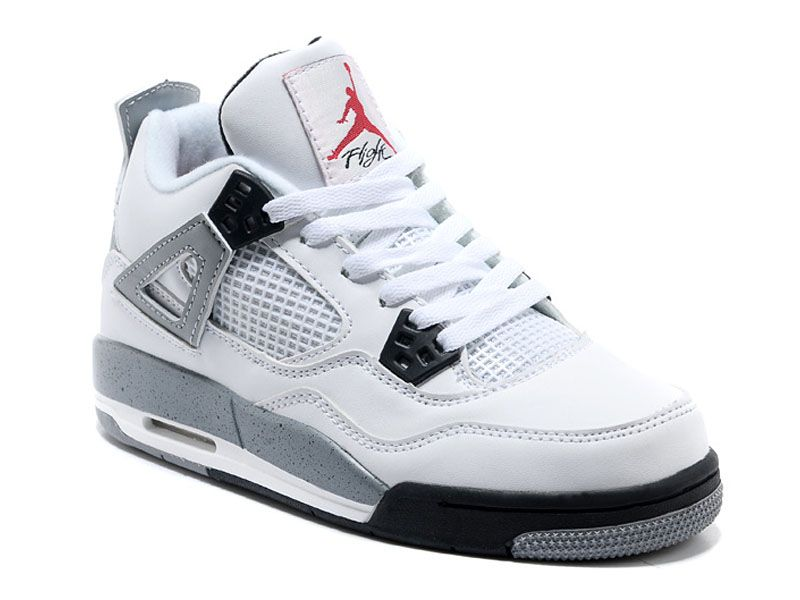 air jordan 4 retro blanc et gris