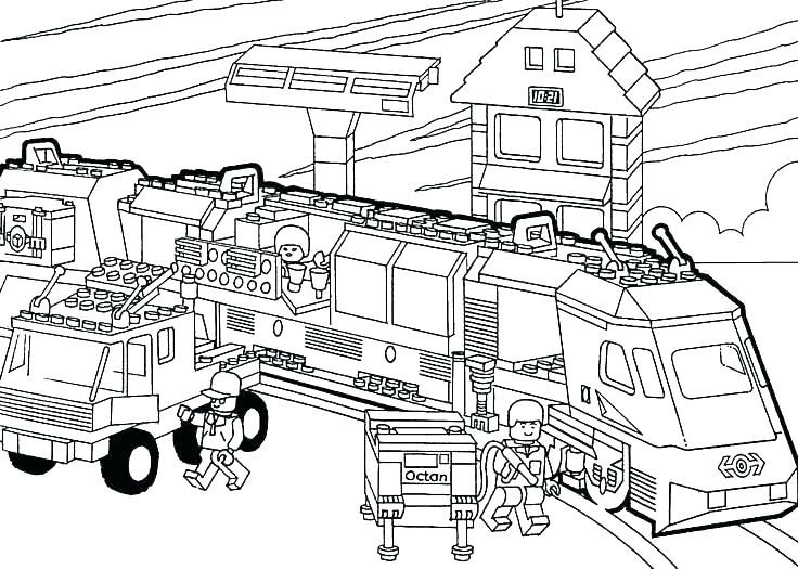 Printable Train Coloring Pages Ideas | Coloring Pages For Kids ...