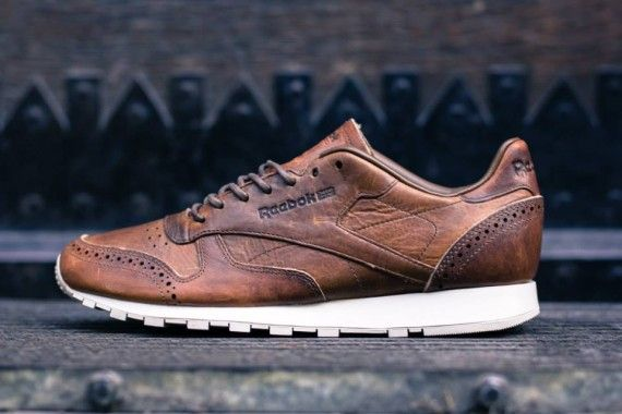 caec9f5deee reebok classic leather lux horween pack Reebok Classic Leather Lux Horween  Brogue Pack