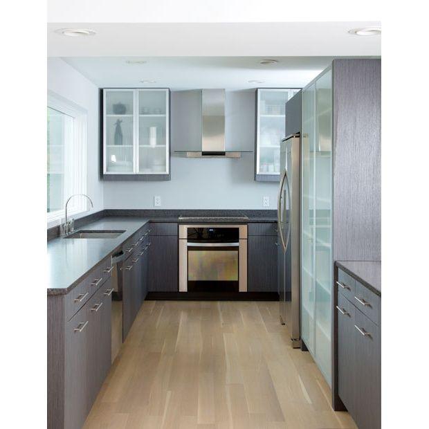 Used Oak Kitchen Cabinets: Treefrog 62204, Grey Oak Straight Grain, Used On A