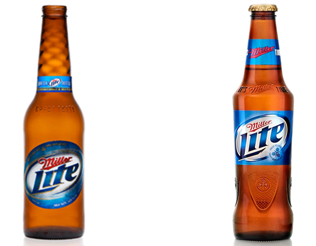 Miller Lite Bottle Design Bottle Design Beer Design Bottle