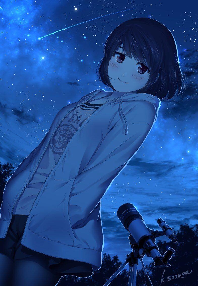 Tachibana Rui Seni Anime Gadis Animasi Animasi