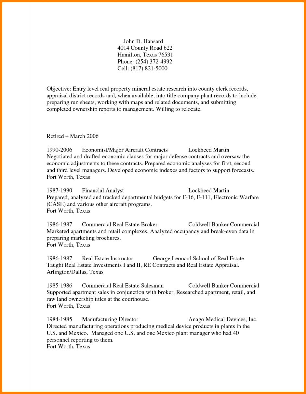 Resume Entry Level Elementary Teacher Landman Example Oil And Gas