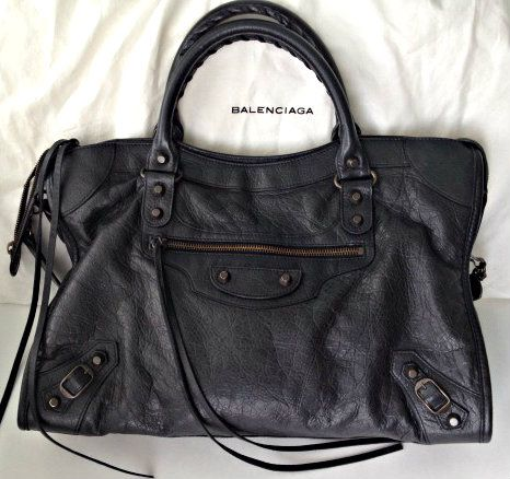 80643b8946 The Balenciaga Black City Bag   Balenciaga Classic Black City Bag RH (Image  Source here ) 1) It is elegant yet understated and goes .