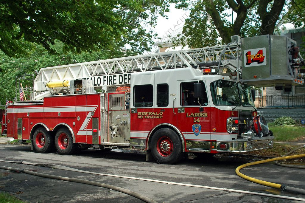 Ladder companies of the buffalo fire department fire