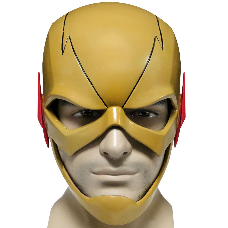 Reverse Flash Mask The Flash Cosplay Reverse Flash Yellow