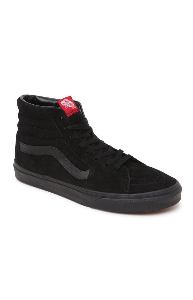 Vans SK8 Hi Shoes - Mens Shoes - Black