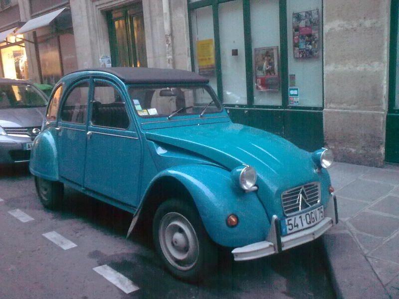 Bleu Des Tropiques 2cv Vehicles Car Someday