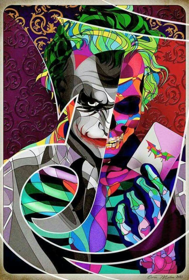 Joker Skull Face By Omar Ricardo Molina Luces