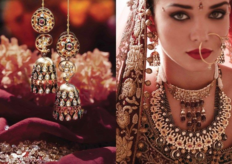 Tanishq Brides of India Jewelry 2016 Punjabi bride Indian