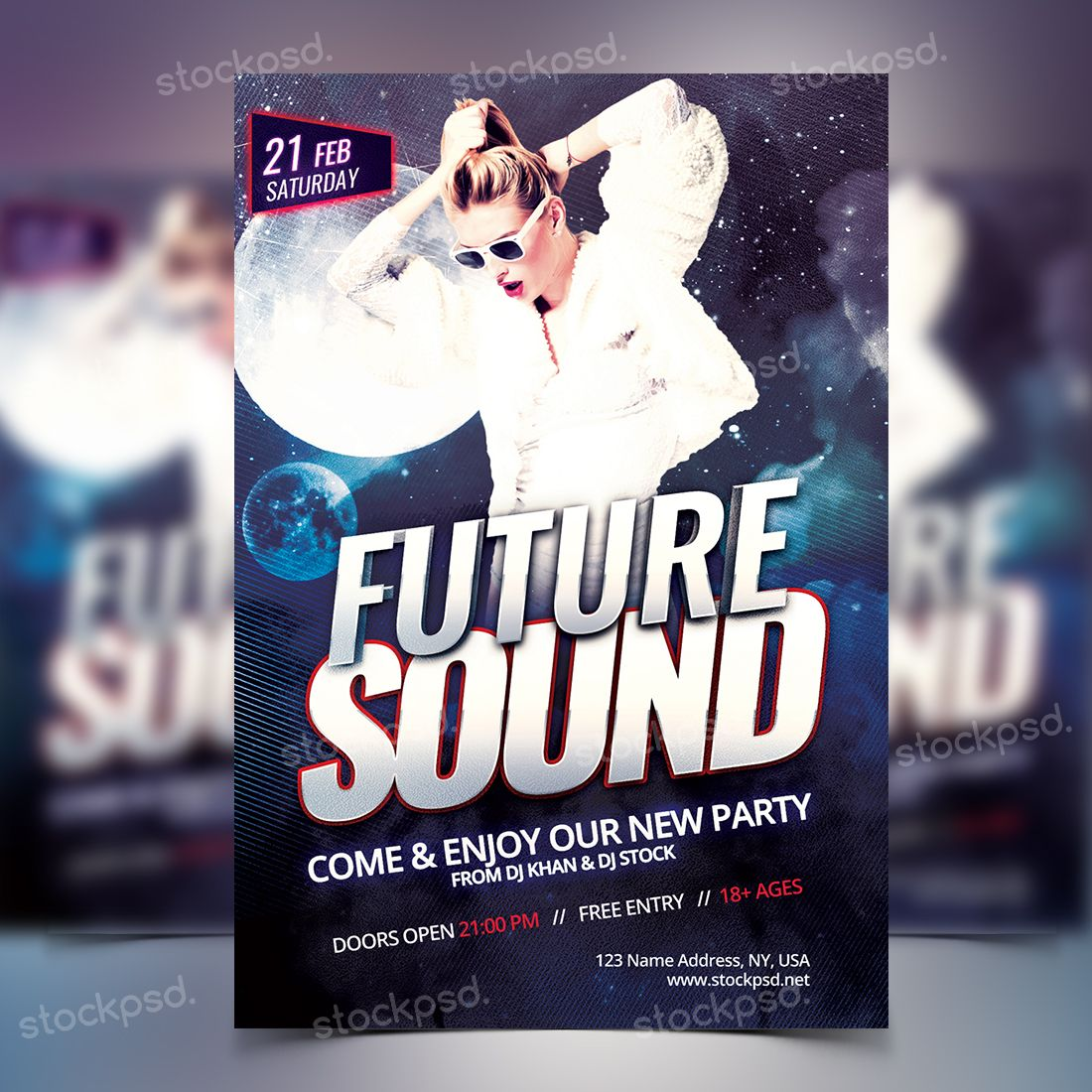 free party flyer templates download