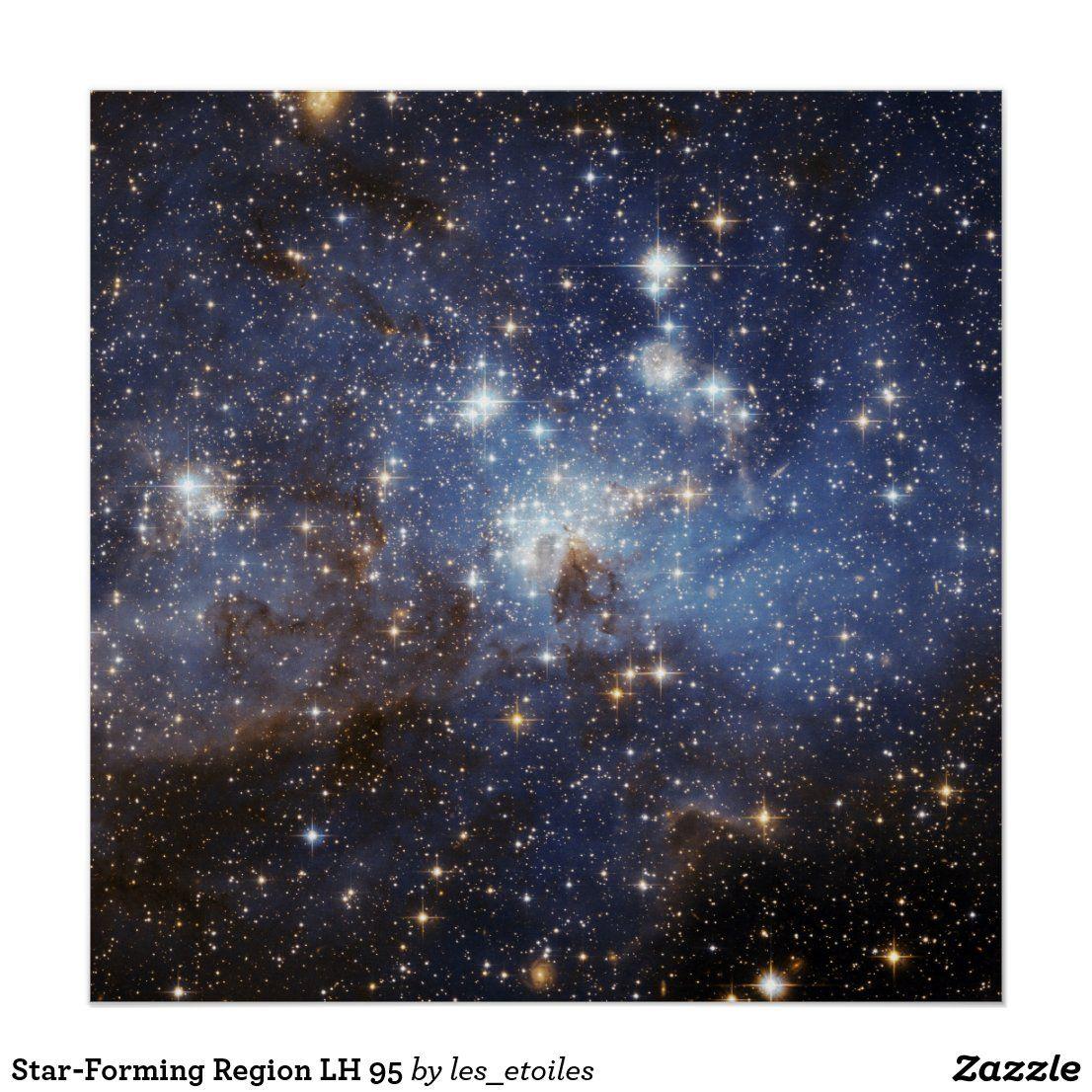 Star Forming Region Lh 95 Poster
