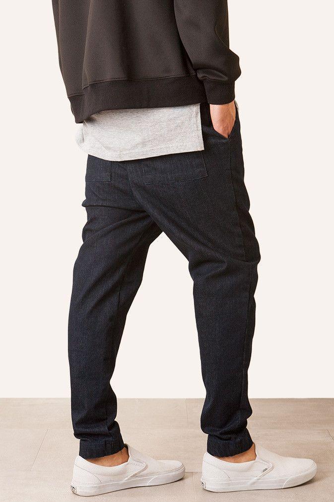 Men's Streetwear Jogger Pants: Chino, Khaki, Twill | Elwood Clothing