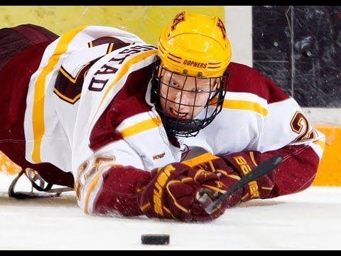 8 Bjugstad S Beauty Beats Bulldogs 2011 12 Gopher Hockey Top Ten Moments Gopher Hockey Golden State Warriors Championships