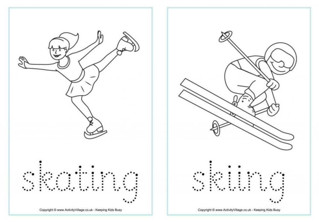 Winter Olympics printables and activities for kids
