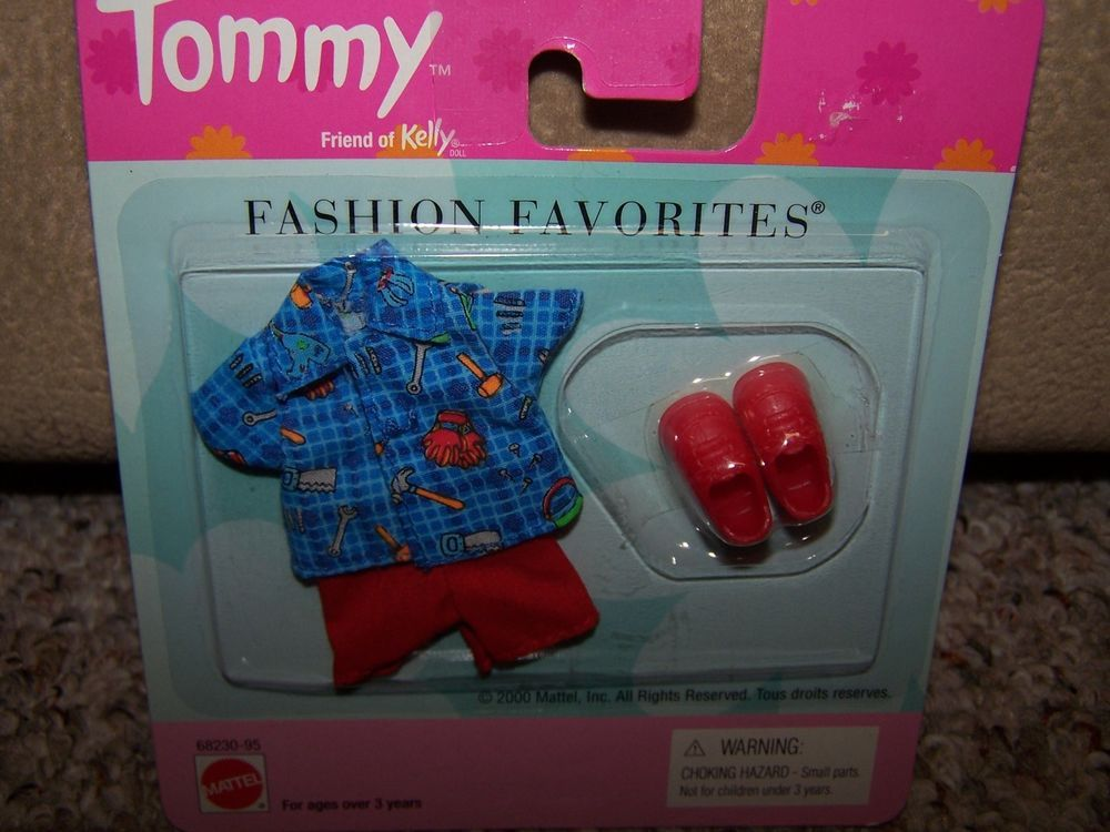 Barbie Tommy Clothes New in Package Kelly Sized Friend Easter Gift!