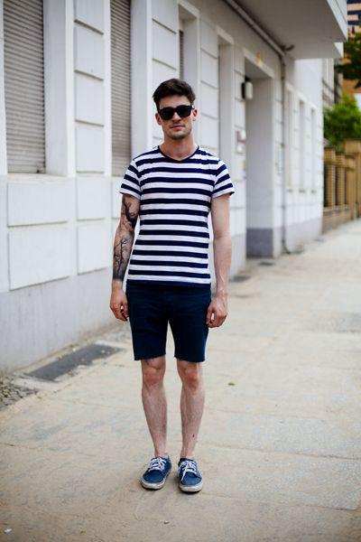Rayas y Shorts | Ropa de hombre, Moda hombre y Estilo urbano