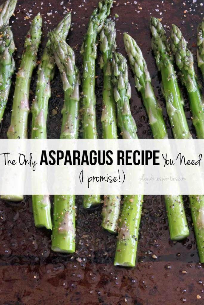 Roasted Asparagus Recipe #TriplePFeature