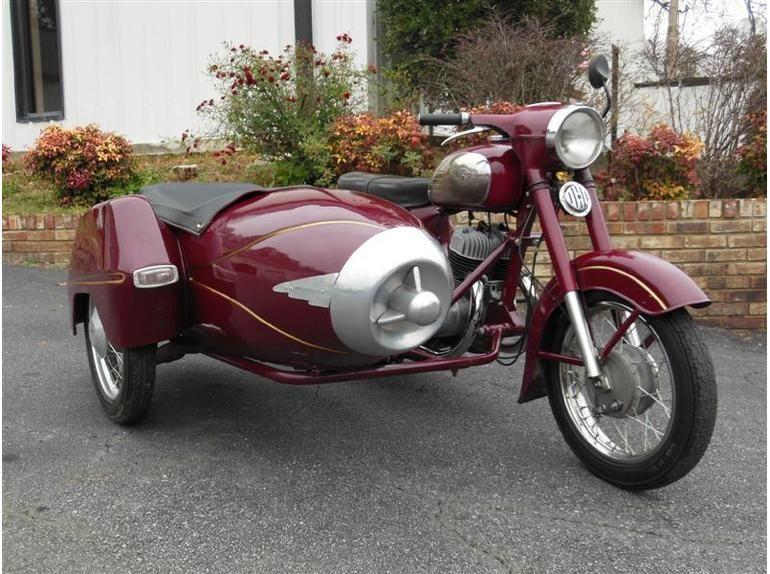 1970 Jawa Cz 350 Motorcycle Sidecar Motorcycle Sidecar