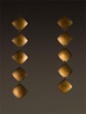 Beautiful earrings by Maria Samora