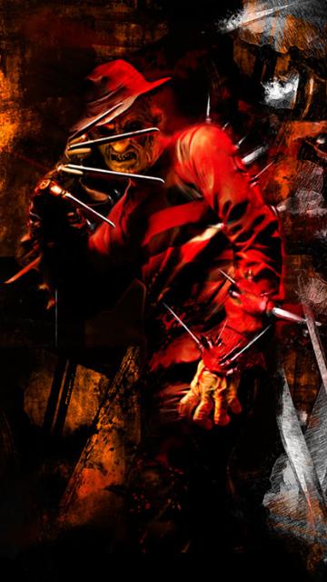 Freddy Krueger Free Wallpaper Download Mobcup Horror Movie Art Horror Movie Icons A Nightmare On Elm Street